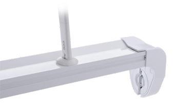 Philips LED stent T8 stent 0.6m / 1.2m - Trường hợp hỗ trợ đặc biệt single-end khung đèn vào dòng