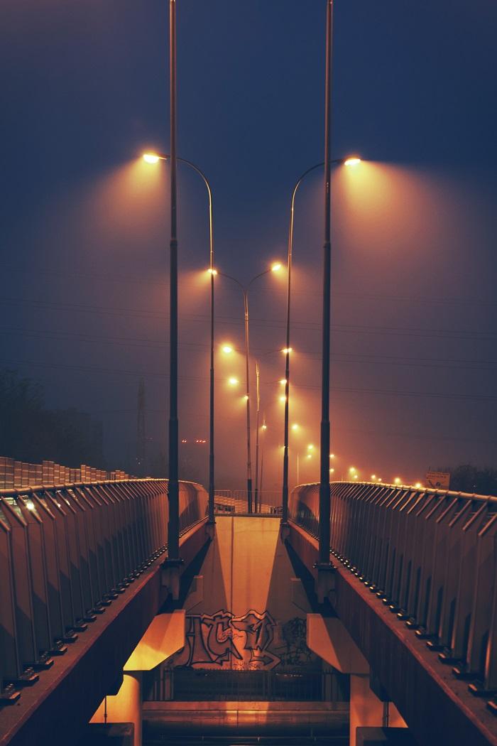 Ứng dụng chiếu sáng đường phố của bóng đèn cao áp Philips SON-T 150W