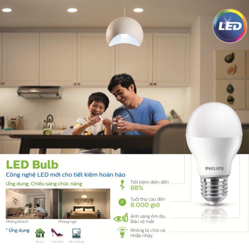 Bóng đèn Ess LED Bulb Philips 7W E27 6500K 230V A60