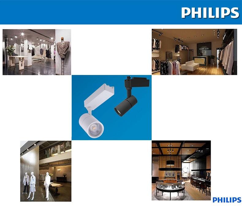 Ứng dụng của đèn LED thanh ray Philips
