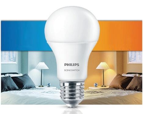 Bóng Led Bulb 4W 3000/6500K P45 E27 230V