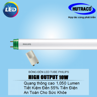 Bóng đèn Led tuýp Philips LEDtube My Care HO 600mm 10W 740 T8 AP I G