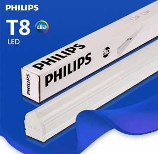 Combo 10 Bộ máng đèn LED Philips 0m6 BN016C LED8/CW L600 GM 8W