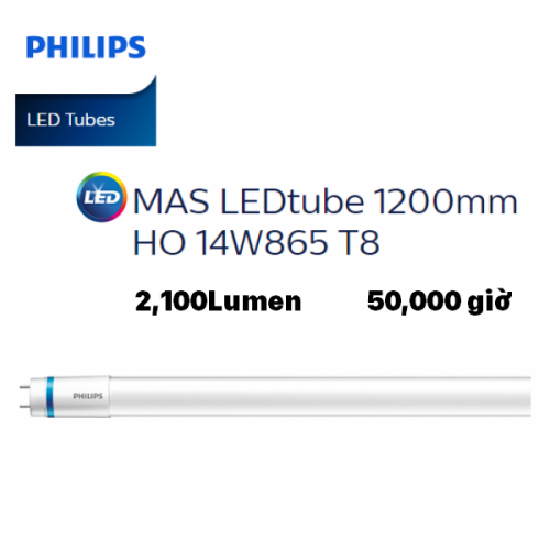 Bóng đèn Led tuýp Philips Master Led Tube 1m2 14W 865 HO