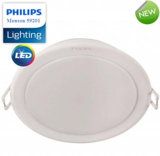 Đèn Downlight âm trần LED 5W Philips 59201 - 2700K/6500K 230V ¢90