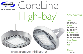 Đèn HighBay Led Philips - CoreLine BY 687/688/689 P LED