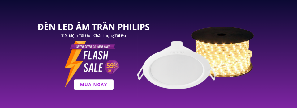 Flash Sale Bóng Đèn LED Philips