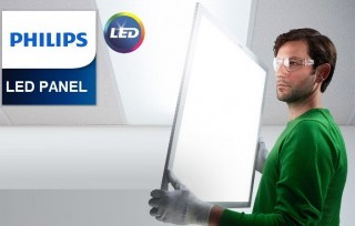 Máng đèn âm trần Led SmartBright Slim Panel Philips RC091V LED26S/865 PSU W60L60 PCV